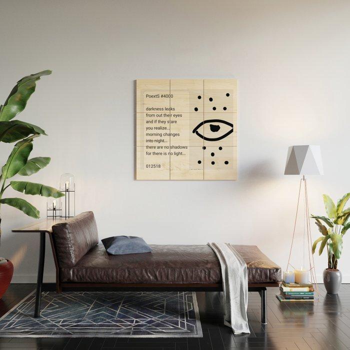 Poexts #4000 Wood Wall Art
