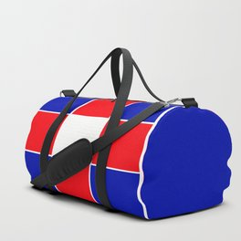 TEAM COLORS 3 ....BLUE , RED Duffle Bag