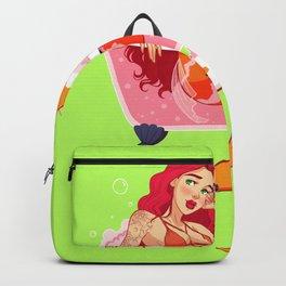 Bath Bomb Mermaid Backpack