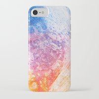 iPhone Cases featuring Abstract Acrylic Mountain by Nicolas Raymond