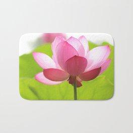 Pink Lotus Flower Bath Mat