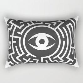 Eye Maze Rectangular Pillow