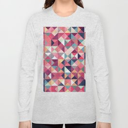 Lovely Geometric Background Long Sleeve T-shirt