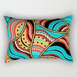 Ethnic Tribal Pattern Art N4 Rectangular Pillow