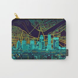 louisville skyline abstract Carry-All Pouch