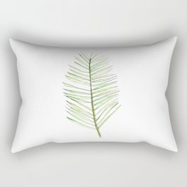 PALM ARECA - WHITE BACKGROUND Rectangular Pillow