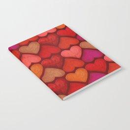 Love Pattern Notebook
