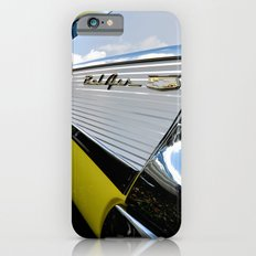 Yellow Classic American Muscle Car Belair  Slim Case iPhone 6s
