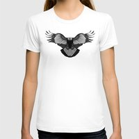 eagle T-shirts featuring Eagle by Schwebewesen • Romina Lutz