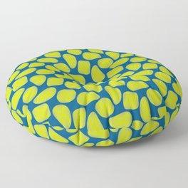 Chartreuse Quarry Floor Pillow