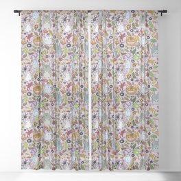 ChibiTotoros Sheer Curtain