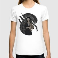 xenomorph T-shirts featuring Alien by Vaahlkult