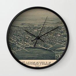 Gainesville 1891 Wall Clock