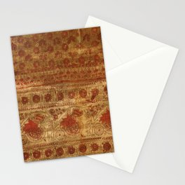 Indian textile Stationery Cards