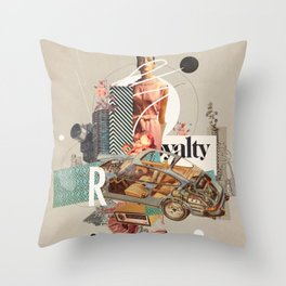 Spirited Royalty Throw Pillow