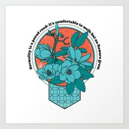 Normality Quote - Van Gogh quote Art Print