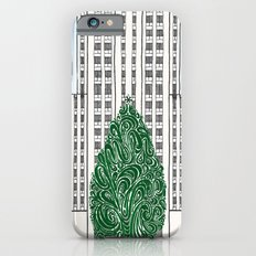 Special Edition Holiday Print: Rockefeller Center by the Downtown Doodler iPhone 6 Slim Case
