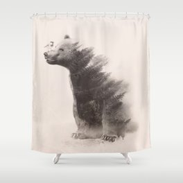 no harm Shower Curtain