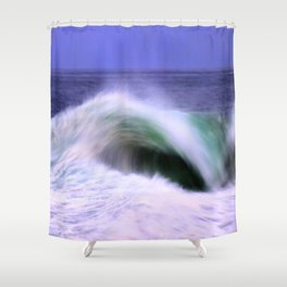 The Moving Ocean Shower Curtain