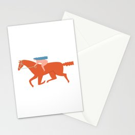 Naked derby Stationery Cards