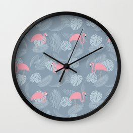 FLAMINGOS 2 Wall Clock
