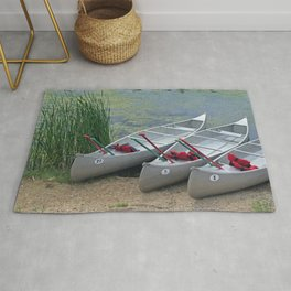 Canoes to Go Rug