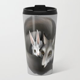 The Wolf and the Hare Travel Mug