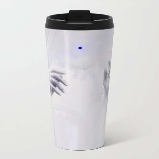 The Weight Of It All Metal Travel Mug