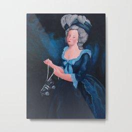 Marie Antoinette, Roller Girl Metal Print