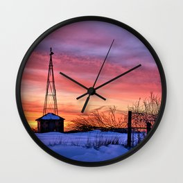 3rd Day Of Spring 2 Wall Clock