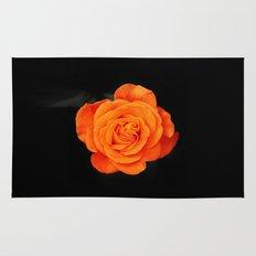 Romantic Rose Orange Rug