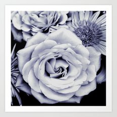FLOWERS IV Art Print