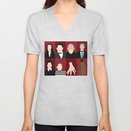 Addams Family Unisex V-Neck