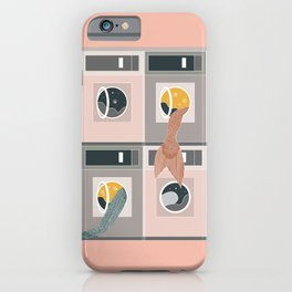 Laundro-mer-mat iPhone Case