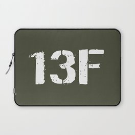 13F Fire Support Specialist Laptop Sleeve