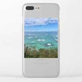 Ocean View No.6 Clear iPhone Case
