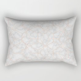 Marble With Party Rectangular Pillow