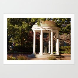 Old Well Art Print