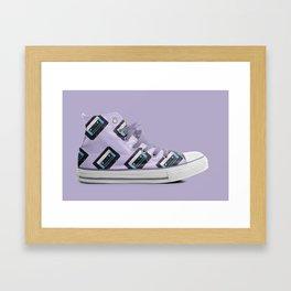 Retro on Retro Framed Art Print