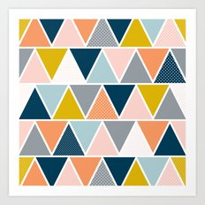 Triangulum Retreat Art Print