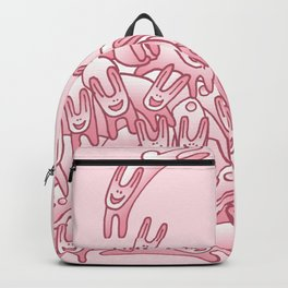 Pink Rabbits Backpack