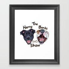 Harry Banks Show Framed Art Print