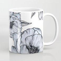 floating flowers Mug