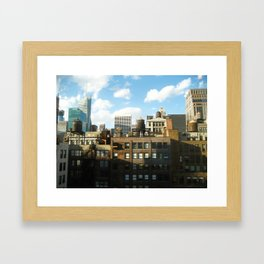 NYC Water Towers Framed Art Print