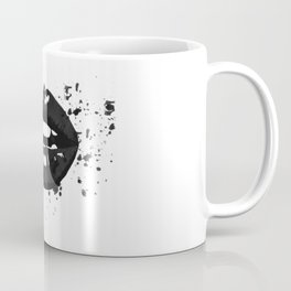 Black and white glamour fashion lips Coffee Mug