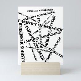 Fashion Messenger Mini Art Print