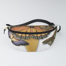 BUTTERFLIES ICE CREAM Fanny Pack