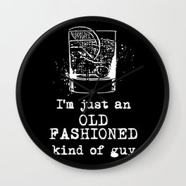 Old Fashioned Guy Wall Clock