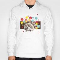 hedgehog Hoodies featuring hedgehog by Caracheng
