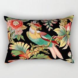 French Wallpaper Rectangular Pillow